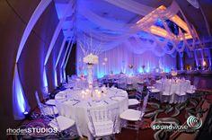 Orlando wedding - LED Wall Lighting by Soundwave Entertainment, www.djsoundwave.net.  Photo by Brian Pepper and Associates  #soundwave  #orlandowedding  #weddinglighting