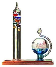 AcuRite Galileo Thermometer with Glass Globe Barometer, Barometer Set Galileo Thermometer, Galaxy Jar, Weather Instruments, World Globes, Science Gifts, Gift Finder, Wooden Cabinets, Severe Weather, Wind Chimes