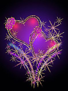 Hearts , jewelry and other pretty things ~` . Purple Love, All Things Purple, Purple Hearts, Heart Wallpaper, Love Wallpaper, Gif Pictures, Pretty Pictures, Animated Heart, Heart Gif