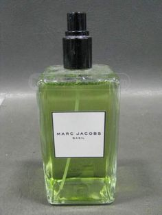 shopgoodwill.com: Marc Jacobs Basil Eau de Toilette Spray 100 fl oz