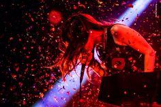 Pitty no Circo Voador. Foto de Ramon Moreira. Em 07 de março de 2015 a cantora retorna ao palco.
