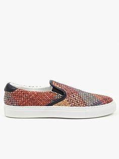Diemme Men s Red Tina Garda Slip-On Sneakers  48fdc9e3c