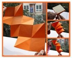 How to Make a Three Square Unfolding Book