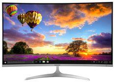 "MEDION AKOYA X58455 80,1cm/31,5"" Curved LED Backlight Monitor FHD HDMI DVI-D A Multimedia, Led Backlight, Monitor, Usb, Computer, Ebay, Amazon, Licence Plates, Depth Perception"