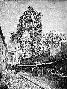 1919 - La construction du Sacré Coeur | PARIS