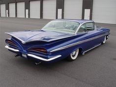 1959 cars | 1959 Chevrolet Impala Custom, chevy, cool, custom, impala, show car
