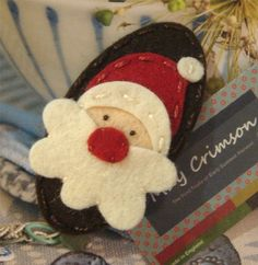 Cute MAGNETIC Santa image!