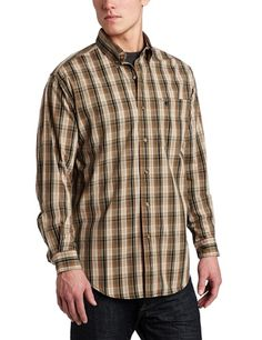 Carhartt Men's Long sleeve Classic Plaid Shirt $16.73 - $50.96