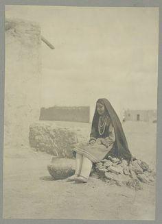 Isleta girl – 1908