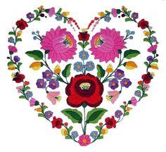 szív alakú hímzésminta - Google keresés