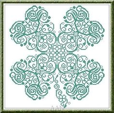 Clover st patricks day luck cross stitch chart Alessandra Adelaide Needleworks $16.75