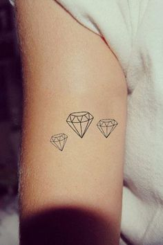 Diamonds tattoo #ink #inspo