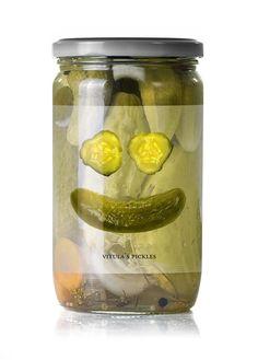 Read more: https://www.luerzersarchive.com/en/magazine/print-detail/vitulas-pickles-47070.html Vitula's Pickles Packaging for pickles. Tags: Kym Abrams Design, Chicago,Melissa Depasquale,Vitula's Pickles,Kym Abrams