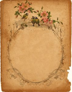 a beautiful vintage frame