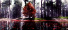 The Red Lake by Prince-of-Dreaming.deviantart.com on @deviantART