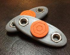 Spinner triple V2 Fidget por FidgetCraft en Etsy