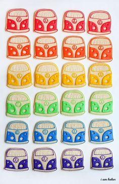 VW Van Cookies