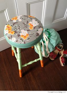 Give boring stools a makeover!