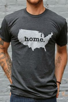 United States Home T Shirt