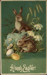 A Happy Easter...Vintage Easter Card