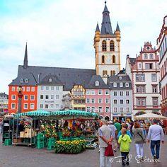 Hauptmarkt - Market Square in Trier Germany