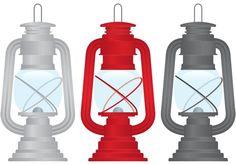 Outdoor Gas Lamp Vectors