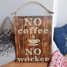 Однозначно утренняя табличка! Оживит хмурое начало рабочего дня. Подойдет для кухни, столовой, гостиной. Можно повесить на кухне в офисе и намекнуть боссу на новую кофе-машину =) Для заказа пишите на master.vallian@yandex.ru или WhatsApp +79168227078 #деревянныйдекор #coffee #coffeetime #coffelover #кофе #nocoffeenoworkee #декор #woodsigns #diy #деревянныетаблички #wood #homedecor #moscow #ручнаяработа #табличкииздерева #длядома #интерьер #необычныеподарки #подаркиручнойработы #подарки