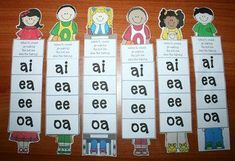 """29-page FREE packet with activities revolving around the rule """"When two vowels go walking the first one does the talking."""""""