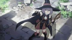 Hai to Gensou no Grimgar is awesome Anime Witch, Kawaii Anime, Grimgar, 2016 Anime, Gifs, Japanese Characters, Witch Art, Anime Films, Ghost In The Shell
