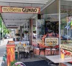 Visit the Gallery section of moBetta Gumbo and have a look at this colorful #Lovelandrestaurant