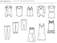 apparel design and merchandising by jasmine ou at coroflotcom