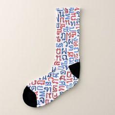 Thai Socks - patterns pattern special unique design gift idea diy
