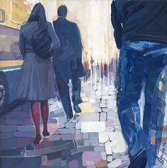 David Agenjo - 'up and down in town'