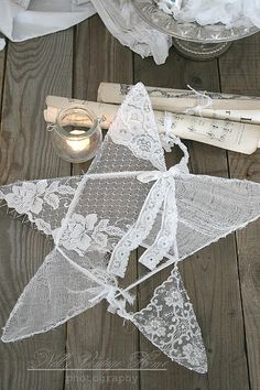 Vintage Lace & Doilies: Upcycled and Repurposed