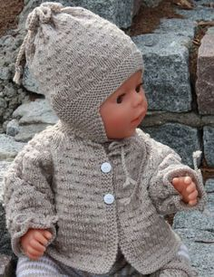 Free Knitting Patterns Baby Doll