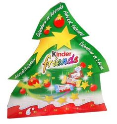 Count down the days before Christmas! This perfect Christmas gift is filled with Kinder schoko-bons, and mini kinder country, kinder bueno, and kinder cho Christmas In Germany, Days Before Christmas, Chocolate Advent Calendar, Importance Of Food, Your Surprise, Advent Calenders, Perfect Christmas Gifts, Old World, Make It Yourself