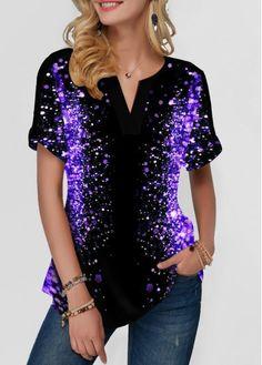 Stylish Tops For Girls, Trendy Tops, Trendy Fashion Tops, Trendy Tops For Women Page 27 Stylish Tops For Girls, Trendy Tops For Women, T Shirts For Women, Clothes For Women, Gilet Kimono, Trendy Fashion, Womens Fashion, Purple Fashion, Street Chic