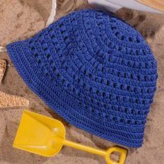 Cotton Pull-On Hat Crochet ePattern