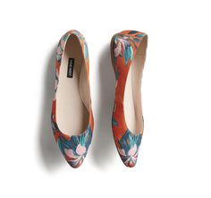 Stitch Fix Spring Stylist Picks: Floral pointed toe flats