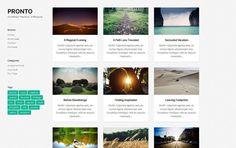 Pronto Free Photography WordPress Theme  #wordpress #wp #free