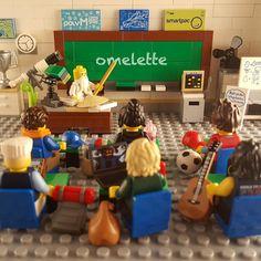 OMELETTE #lego #legoninjago #legoninjagomovie