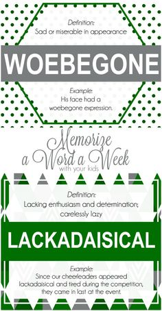 Memorize a Word a Week with your kids!  Such a fun way to help your kids learn!