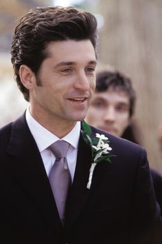 """Patrick Dempsey (as Andrew Hennings) in Sweet Home Alabama (2002). """"Wow. So, this is what it feels like."""""""