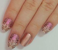 Nail Art Tutorial: Baroque Nails