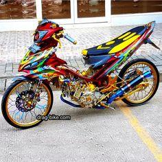 Jupiter Z Cw 115 Cc Modifikasi Motor Terbarus Street Racing, Road Racing, Drag Bike, Custom Cafe Racer, Mitsubishi Pajero, Motosport, Motorcycle Art, Honda Cb, Kawasaki Ninja