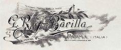 Official Barilla letterhead, 1910