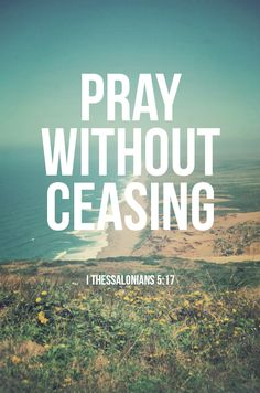 1 Thessalonians 5:17