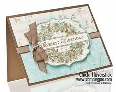 Stampin' Up! SU by Chiaki Haverstick, stampingpro