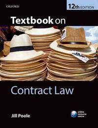 Download eBooks Contract Law (PDF, ePub, Mobi) by Ewan