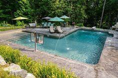 L-Shape Inground Pool Kits   Royal Swimming Pools
